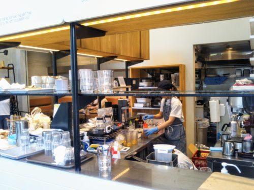 ピーナッツカフェのキッチン