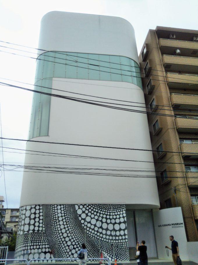草間弥生美術館の外観