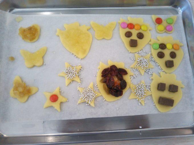 東京ストロベリーパーク スタジオスイッチでオリジナルクッキー作り完成