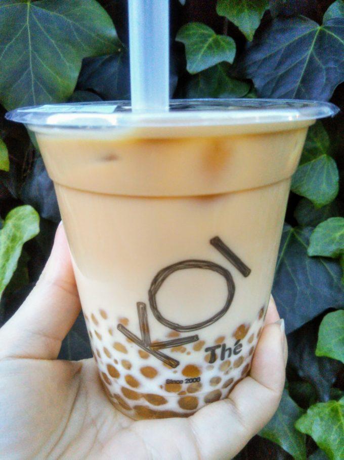 コイティー(KOI the)表参道でタピオカミックスセイロン紅茶ラテSサイズを買ったよ!