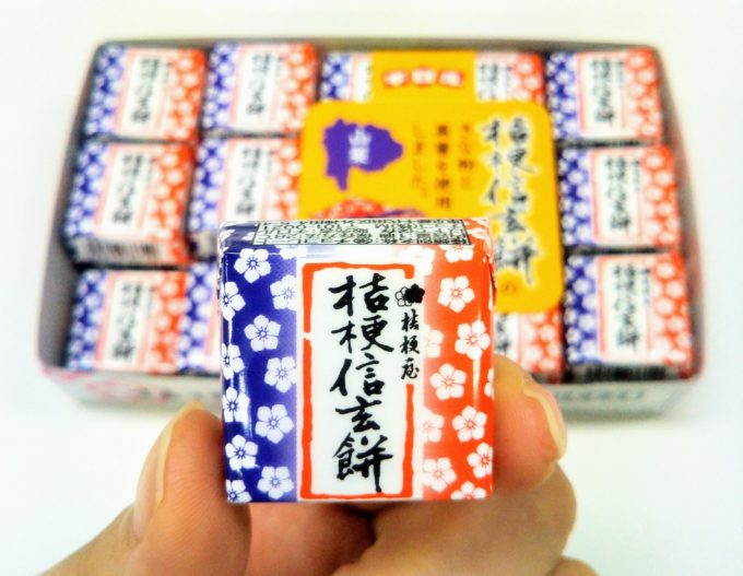 チロルチョコ桔梗信玄餅大人買い記念に撮ってみた!