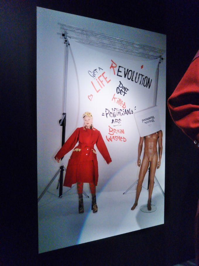 2018年~2019年のキャンペーン広告でヴィヴィアンさん本人がマネキンと同じもの着てました
