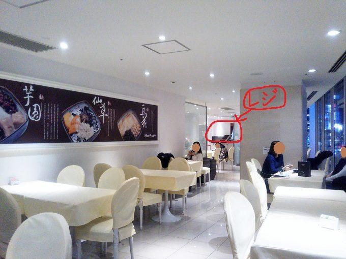 MeetFresh 鮮芋仙(ミートフレッシュ シェンユイシェン)マロニエゲート銀座の店内は席数80席で広々!