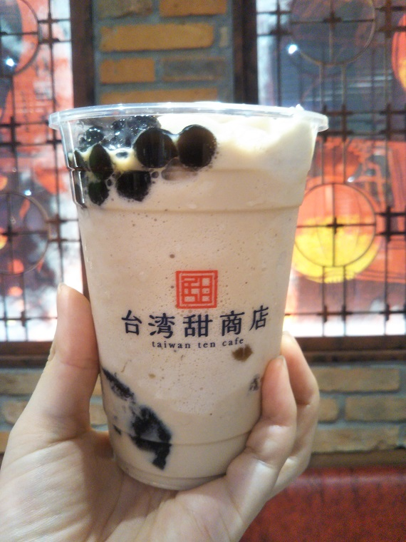 台湾甜商店の台湾満足スムージーは1杯で食感が楽しい飲むスイーツ!